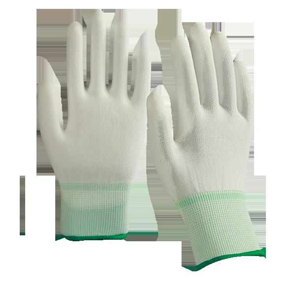 PU palm fit white color size M